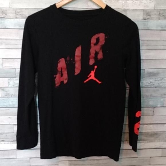 3a3479672ee80b 💯Nike Air Jordan Jumpman 23 T-shirt boys L 12-13